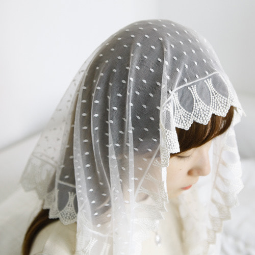 루애나 미사보 Ruena Catholic Veils