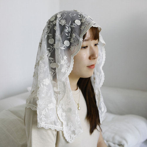 카멜리아 미사보 Camelia Catholic Veils